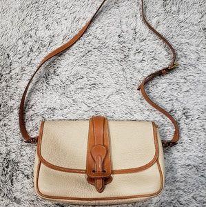 DOONEY AND BOURKE Vintage Equestrian Saddle Bag